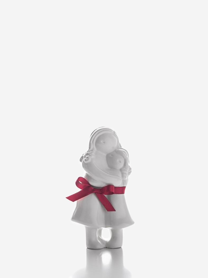 """Figura """"Abraço Mãe com Menina"""""""