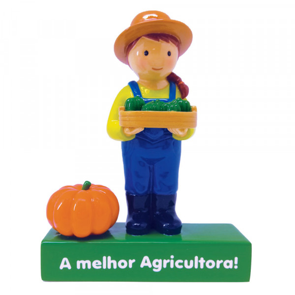 "Little Drops of Water Figura ""A melhor Agricultora!"""