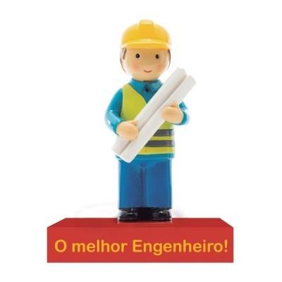 """Figura """"O Melhor Engenheiro"""""""