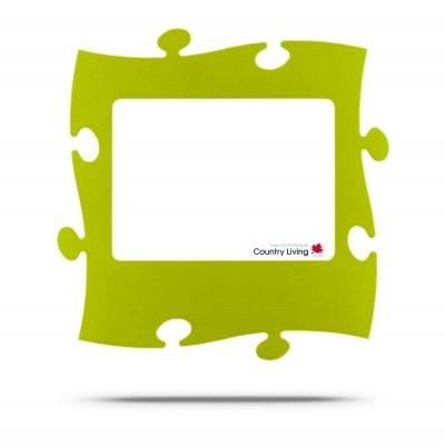 Moldura Puzzle+ 20x28cm verde alface Country Living