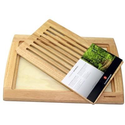 Tábua para pão madeira 42x28cm Zassenhaus