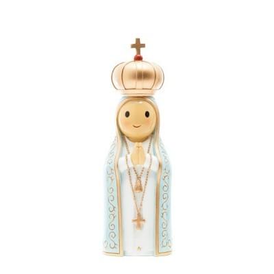 """Figura """" Nossa Senhora de Fátima, 16,5cm (média) Little Drops of Water"""