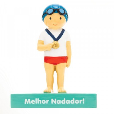 "Little Drops of Water Figura ""Melhor Nadador!"""