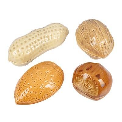 Caixa Amendoim Frutos Secos Bordallo Pinheiro