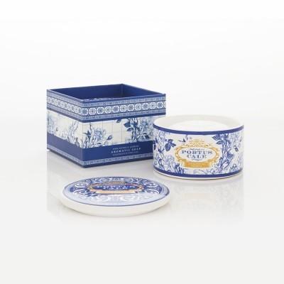 Sabonete 150g Gold & Blue com caixa porcelana Portus Cale