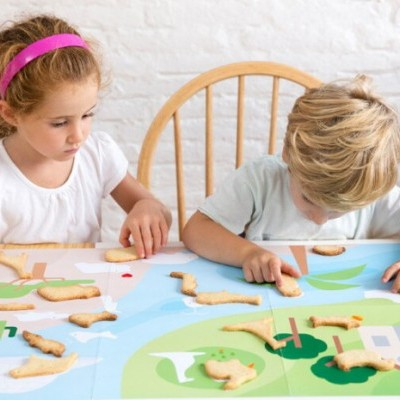Cortante Cookie Puzzle Animals Lékué