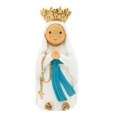 "Figura "" Nossa  Senhora de Lourdes""  Little Drops of Water"
