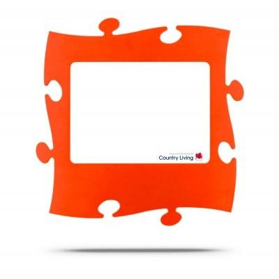 Moldura Puzzle+ 20x28cm laranja Country Living
