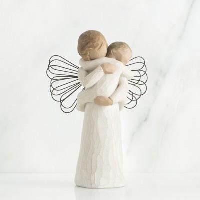 "Figura ""Abraço do Anjo"" Willow Tree"