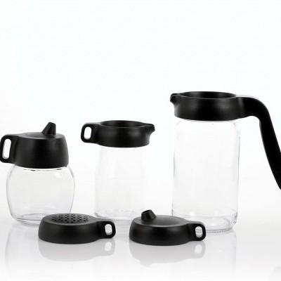 Set 5 tampas para reutilizar frascos