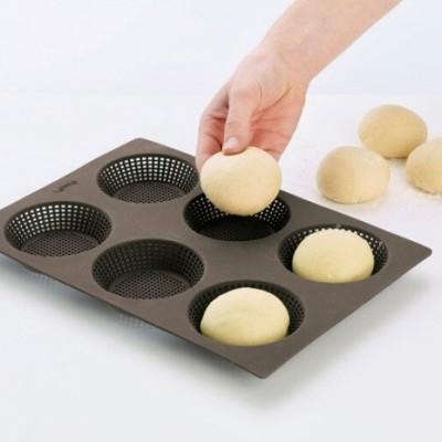 Forma para 6 Bagels silicone