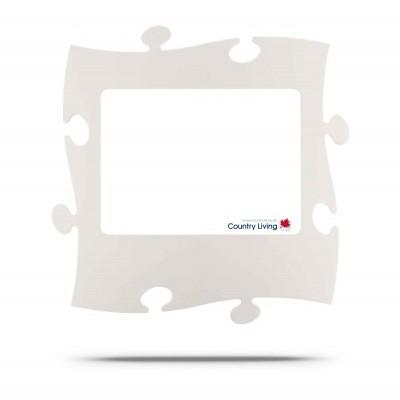 Moldura Puzzle+ 20x28cm branca Country Living