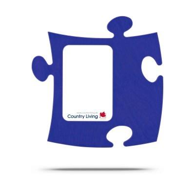 Country Living Moldura Puzzle+ 9x13cm azul