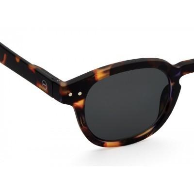 Óculos de Sol #C Tortoise lentes verdes  IZIPIZI