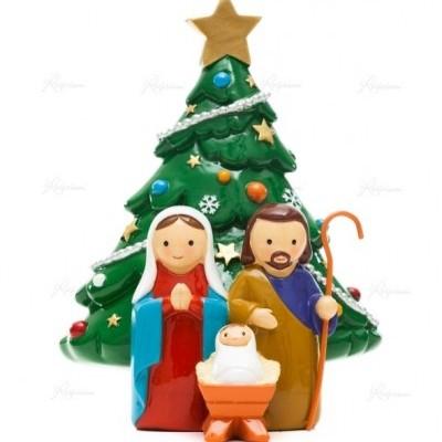 """Little Drops of Water """" Sagrada Família com Árvore de Natal"""""""