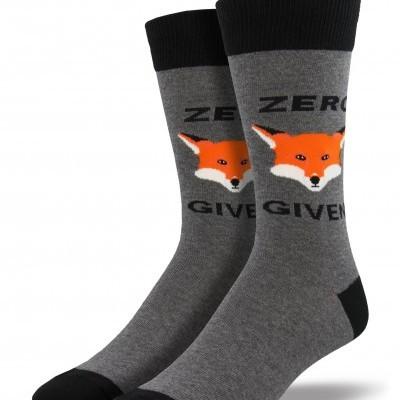 """Meias """"ZERO FOX GIVEN"""""""