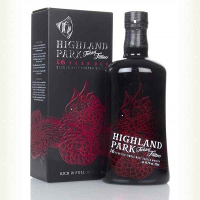 Whisky Highland Park 16 Year Old Twisted Tattoo 70CL
