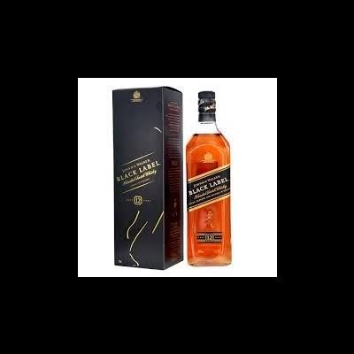 Whisky Johnnie Walker black label 70cl