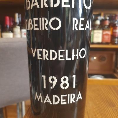 Madeira Barbeito Ribeiro Real 75cl