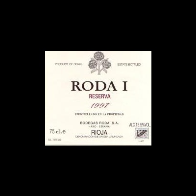"Bodegas Roda ""Roda I"" Reserva Rioja  75cl"