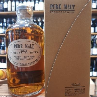 Whisky Nikka black pure malt 50cl