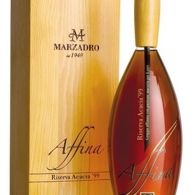 Grappa Marzadro Affina Riserva Acacia 1999  1 litro