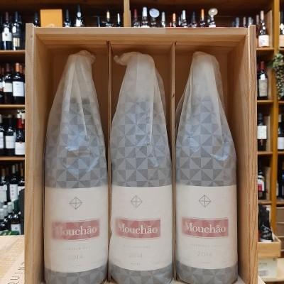 Herdade do Mouchão - pack caixa de madeira com 3 garrafas