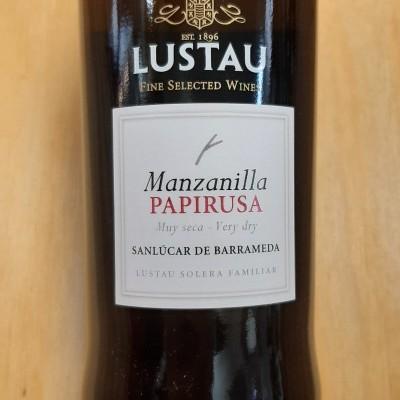 Manzanilla Lustau Papirusa 70cl