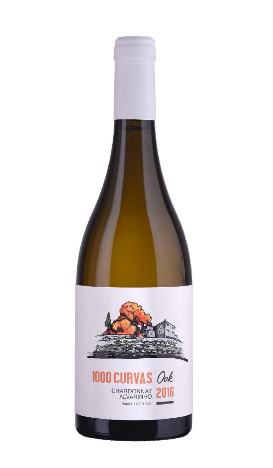 1000 Curvas OAK Branco Chardonnay & Alvarinho 2016