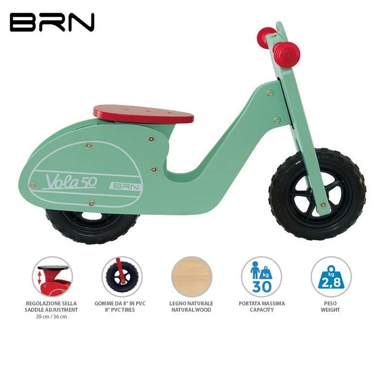 Bicicleta Equilíbrio BRN Vola 50