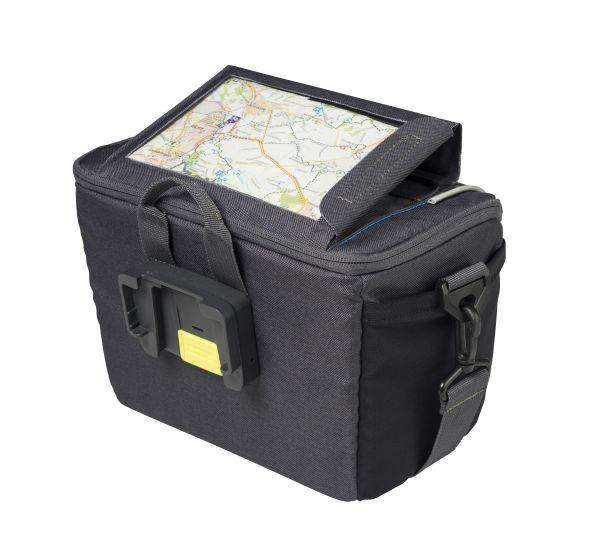 Basil Sport Design - handlebar bag - 7 L - Black