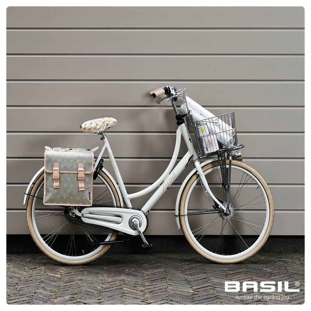 Basil Star Double Bag - 35L - Grey