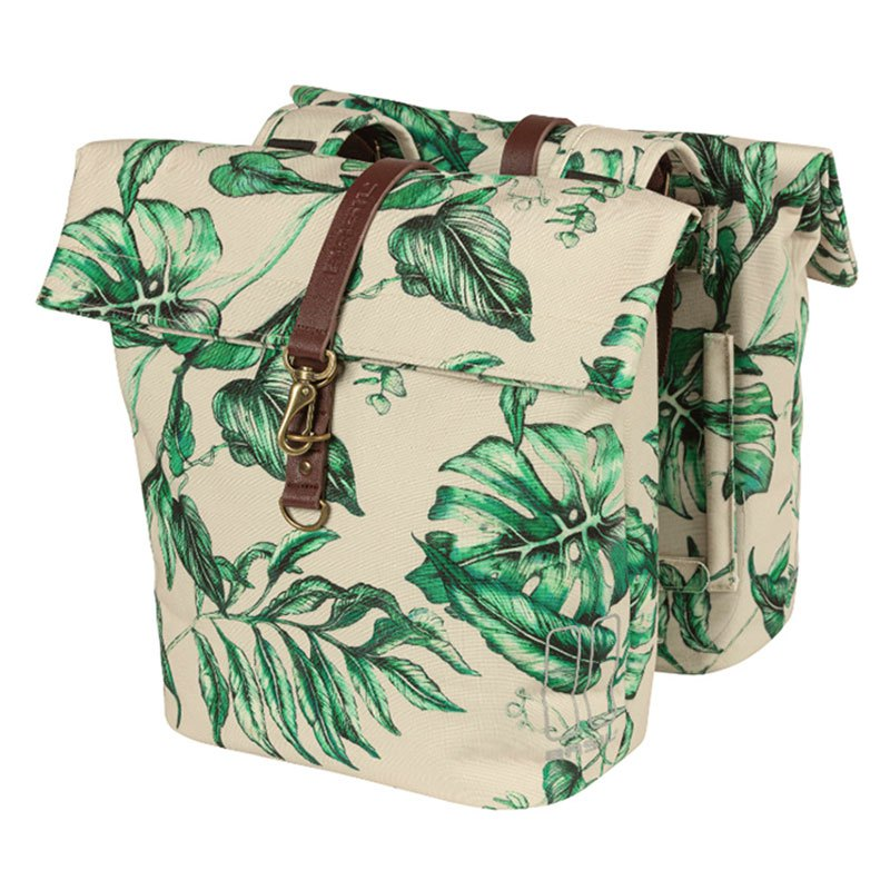 Basil Ever-Green - Double Bicycle Bag - 28-32 L