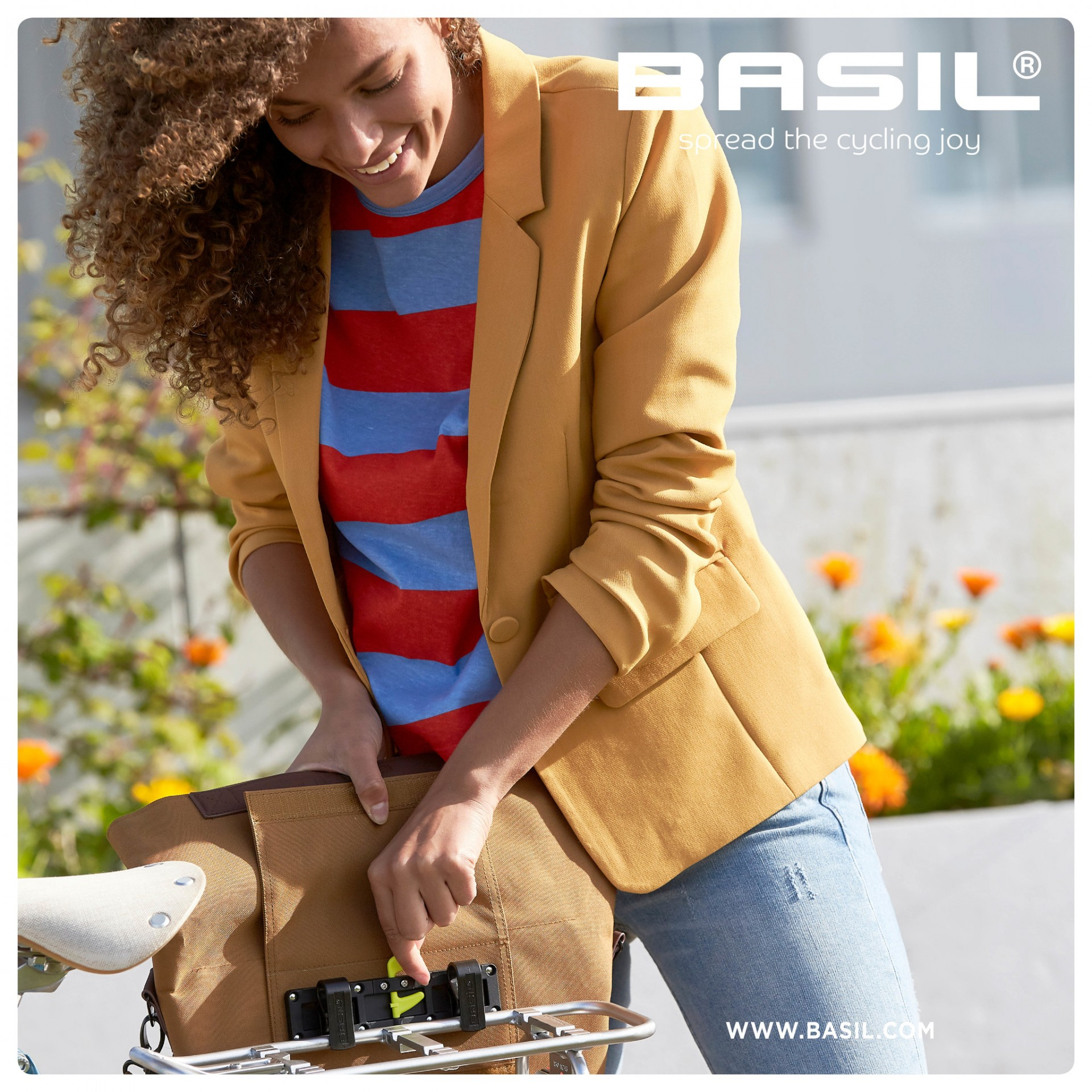 Basil City - Shopper bag - 14-16 L - Camel