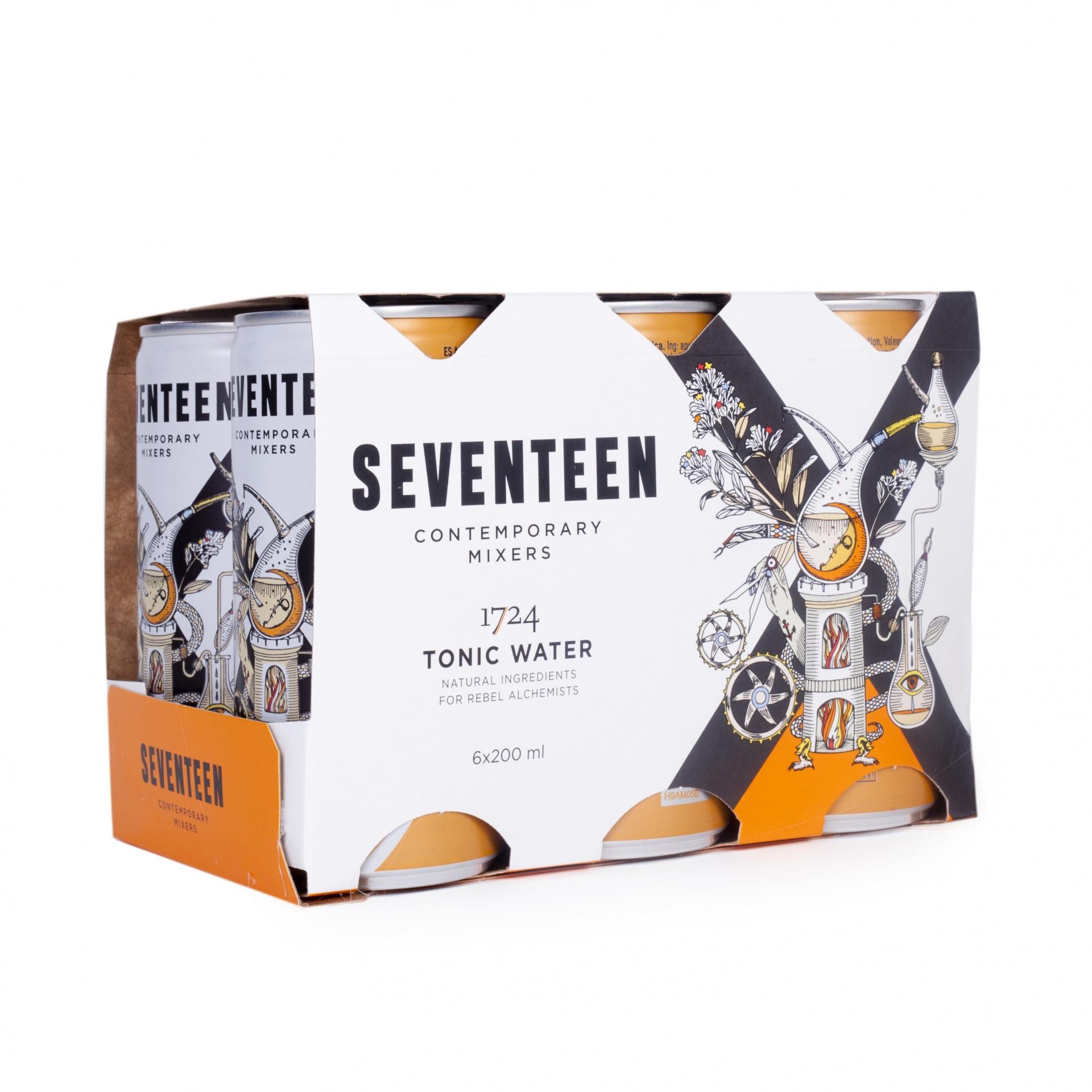 Água Tónica Seventeen 1724 (Pack 6)