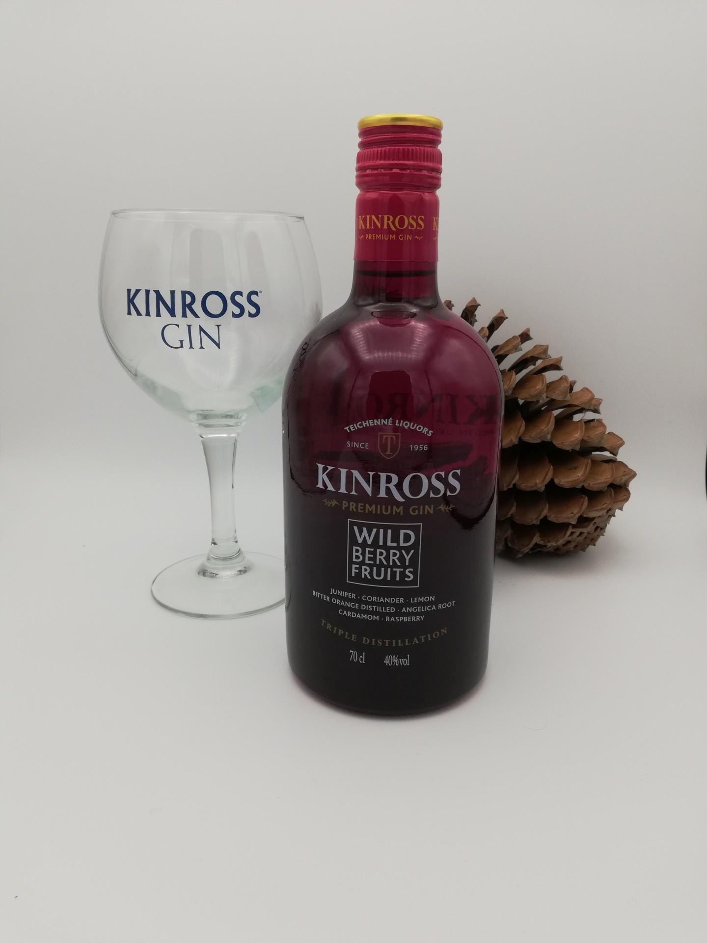 Gin KINROSS Berry c/Copo