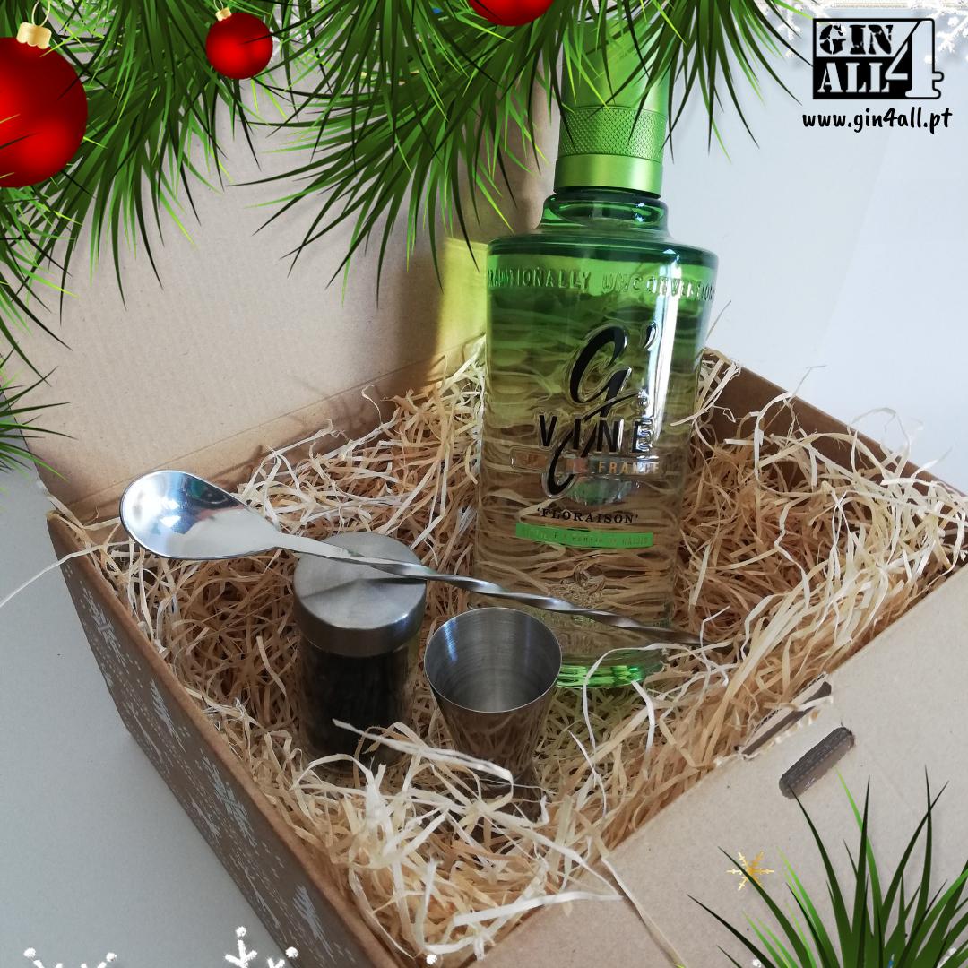 Gin G`Vine Floraison com Colher + Jigger + Especiarias