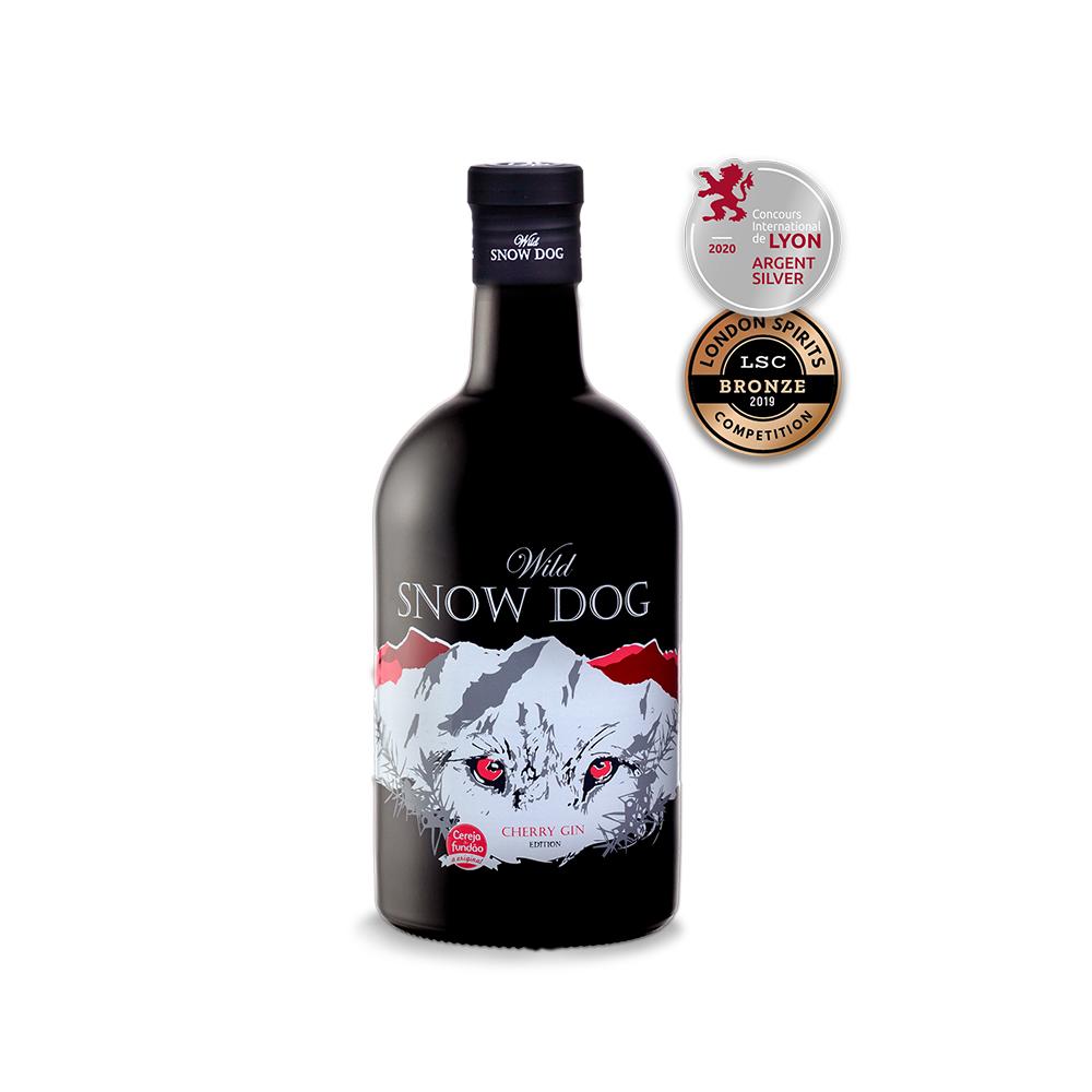 Gin Wild Snow Dog Cherry