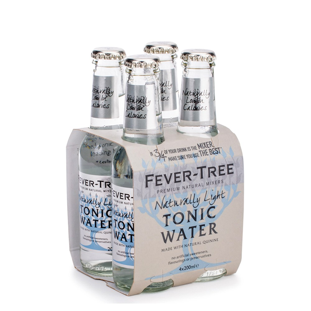 Água Tónica Fever-Tree Naturally Light Tonic