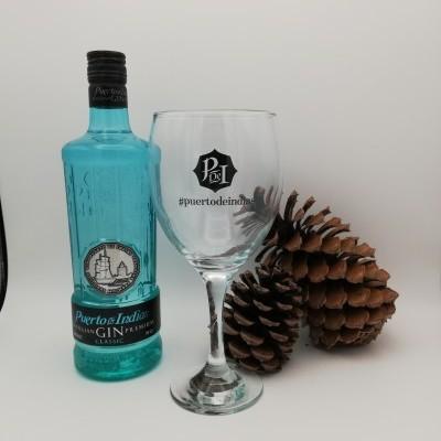 Gin Puerto das Indias Classic c/Copo