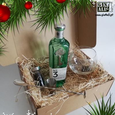 Gin Nº3 com Copo + Colher + Jigger + Especiarias
