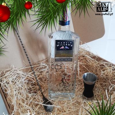 Gin Martin Miller`s com Colher Moonlight + Jigger