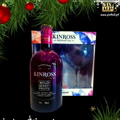Gin KINROSS Berry com Copo