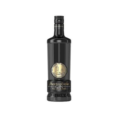 Gin Puerto das Indias Black c/Copo