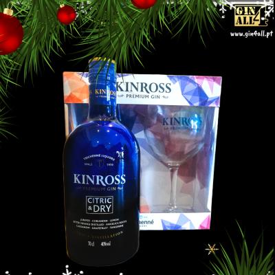 Gin KINROSS Premium com Copo