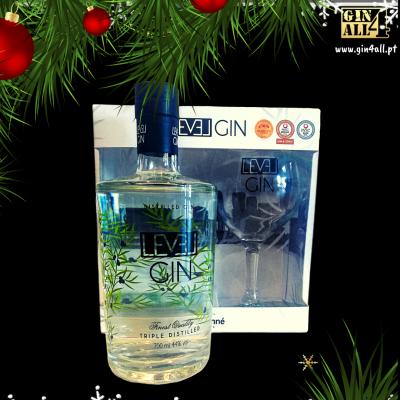 Gin Level Premium com Copo