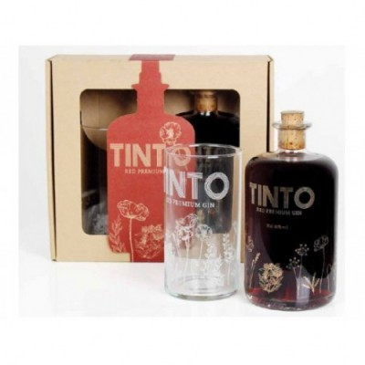 Gin Tinto Red c/Copo