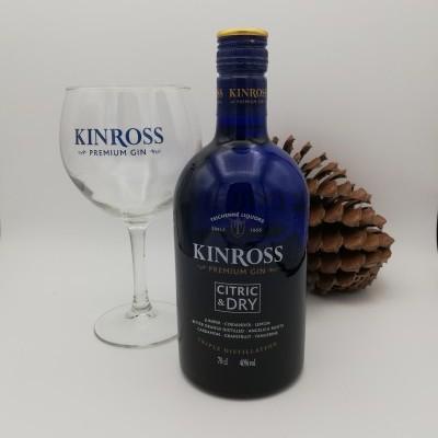 Gin KINROSS Premium c/Copo