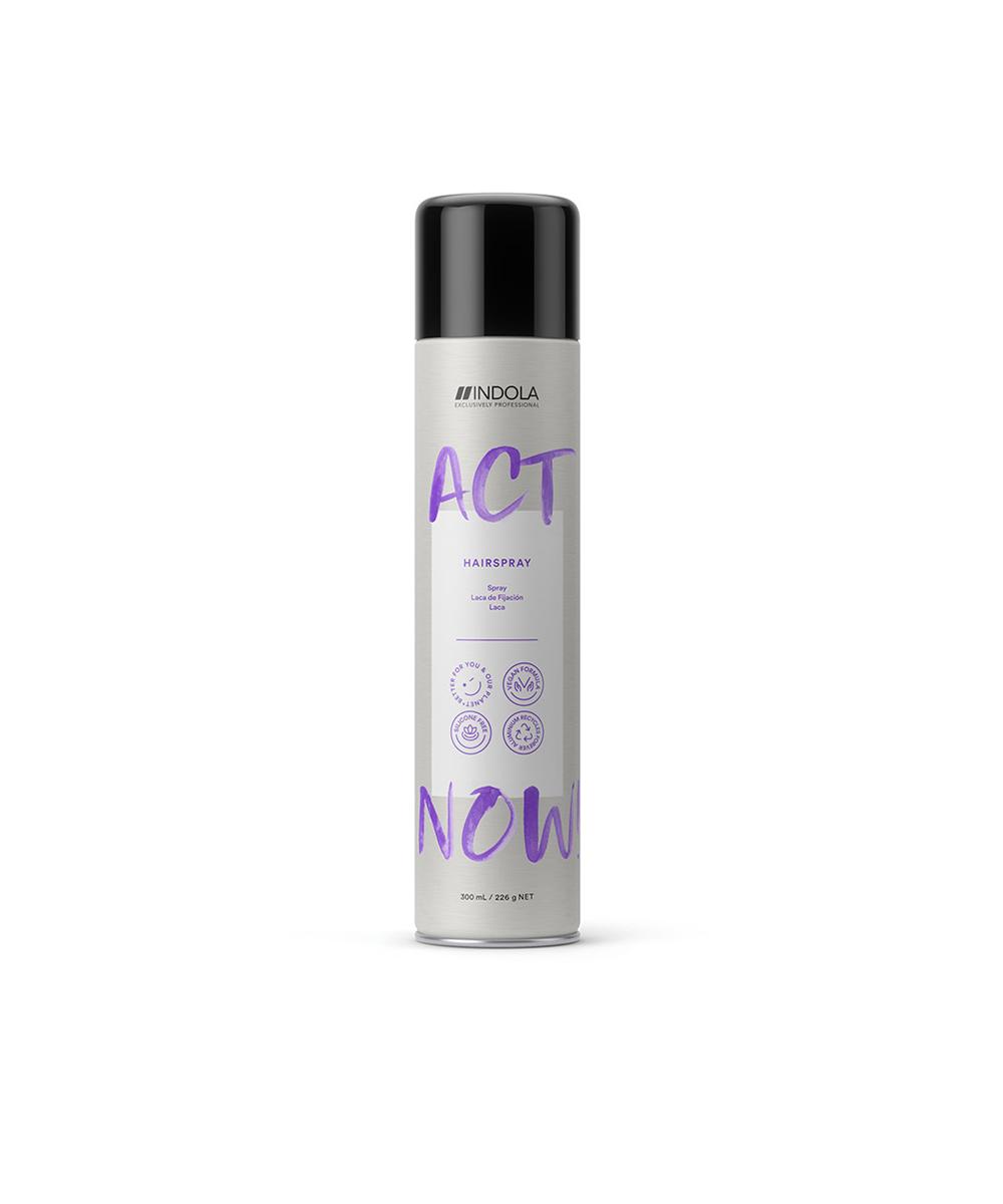 ACT NOW! Laca ecológica fixação média
