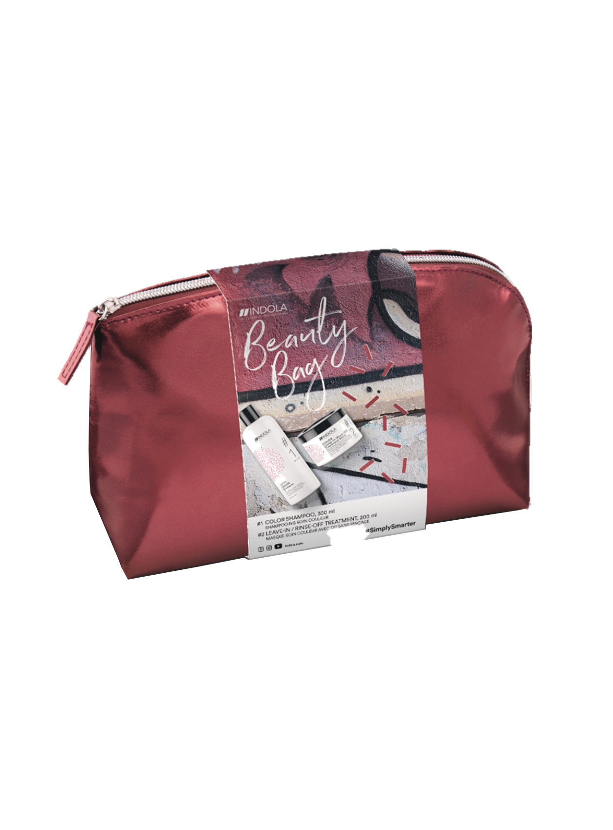 Indola - Pack Color - Pack Champô Color + Máscara Color Leave-in